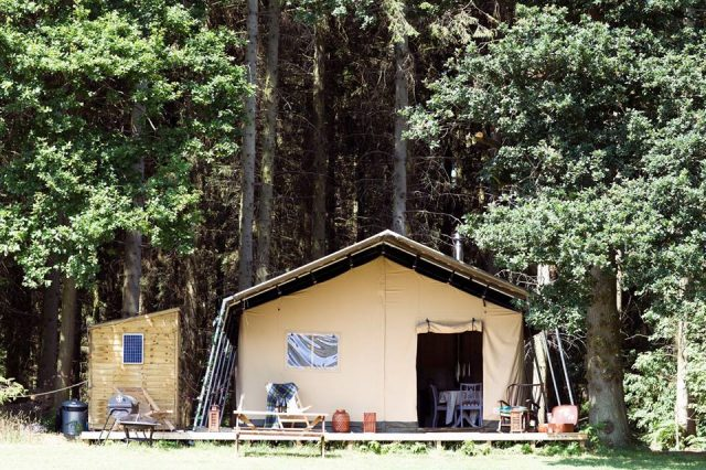 Camp Katur Glamping site for families